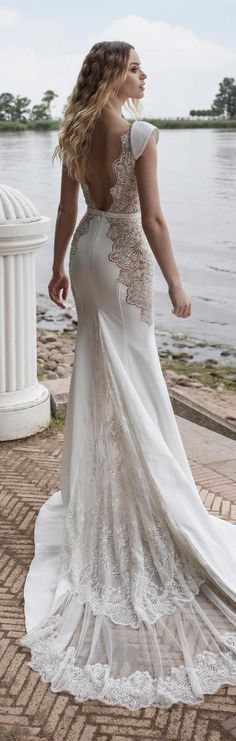 [tps_header] Lian Rokman Wedding Dresses 2018 Stardust Bridal Collection features on-trend illusion plunging necklines and striking inserts and trims — perfect for sophisticated brides. Catch every gorgeous wedding d...