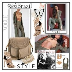 """Ricki Brazil"" by lip-balm ❤ liked on Polyvore featuring Chloé, Kendra Scott, Giuseppe Zanotti and rickibrazil"