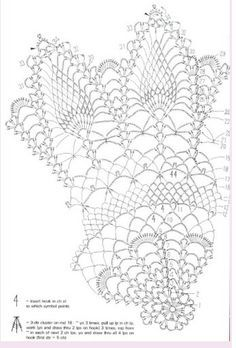 crochet pineapple doiley chart | page 2 of 3 pineapple doily advanced pattern 3