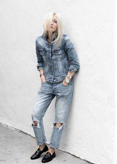 51 Fresh Ways to Wear a Jean Jacket | StyleCaster