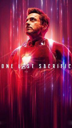 "Avenger End Game: Tony Stark/Iron Man Wallpaper - ""One Last Sscrifice. Marvel Dc Comics, Poster Marvel, Marvel Avengers, Hero Marvel, Films Marvel, Avengers Movies, Marvel Memes, Marvel Characters, Captain Marvel"