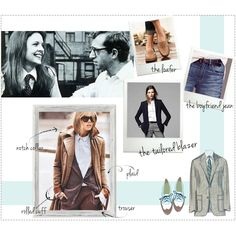 Spotlight on Style: The Menswear Trend = I've wanted to try boyfriend jeans and am also looking for a fitted knit blazer in a gray or black.