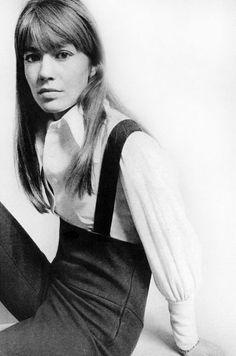 Françoise Hardy by David Bailey, 1967