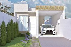 Casa popular fachada moderna