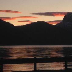 Isane #nordfjord #norway #earlymorning #ferry