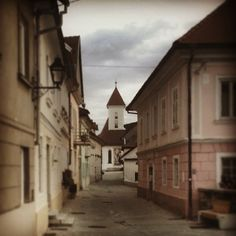 Kranj - old part of town