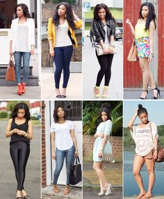 Looking back at outfit photos from the past year with a giddy feeling in my stomach! I can say that I really discovered my style this year, what I like and what I feel good in! That's just on… Fashion Beauty, Girl Fashion, Fashion Outfits, Fashion Trends, Fashion Bloggers, All About Fashion, Passion For Fashion, Mode Jeans, Classy Casual
