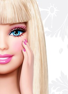 Barbie nails Barbie Theme Party, Barbie Birthday Party, Barbie Drawing, Barbie Images, Girly M, World Wallpaper, Pop Up Art, Aesthetic Tattoo, Barbie Princess