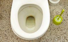 Sådan undgår du brune striber i toilettet.