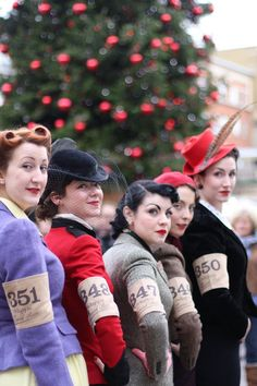 The Vintage Mafia looking smashing (as always) at the Ralph Lauren Rugby Tweed Run!