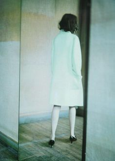 Vogue Italia October 1998, Photos  Audrey Marnay by Paolo Roversi
