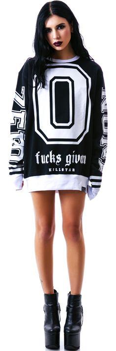 Kill Star Zero Sweatshirt | Dolls Kill
