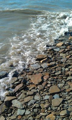Lake Erie shoreline, oh how I loved skipping these perfectly flats rocks on a summer day! Lakeside Ohio, Ashtabula Ohio, Cleveland Ohio, Cleveland Rocks, The Buckeye State, Lake Huron, Lake Erie, Lake Superior, Lake Michigan