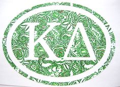 Kappa Delta Sticker Decal Sorority  Great by TheLivelyLobster