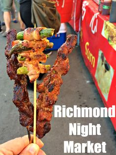 Eat tasty stree tfood at Richmond BC's Night Market, the biggest in North America via @rtwgirl