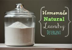 Easy Homesteading: Homemade Natural Laundry Detergent Soap Recipe (Borax-Free)