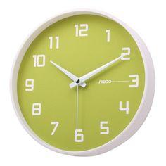 Luminous Key Lime Non-Ticking Silent Wall Clock (Green) $24.18