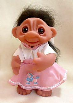 little valentine troll doll wowwygazowwy brascina vintage troll