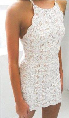 [ $26.00 ] Sexy Lace Backless Dress #graduationdresses