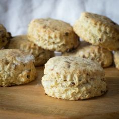 This is a basic scone recipe with two variations and endless possibilites... very easy to make and delicious.