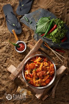 Korean Spicy Stir-fried Chicken(Camping Ver.)  - toraii.com