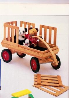 Little Red Wagon by Specialty WoodWorks