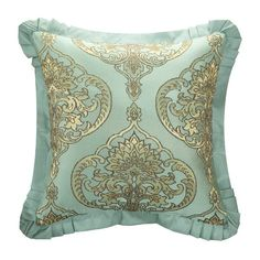Shop Chic Home Giovani Jacquard Motif Fabric Comforter Set - On Sale - Overstock - 19972775 Queen Comforter Sets, Bedding Sets, Online Bedding Stores, Silk Bedding, Scroll Design, Decorative Pillows, Comforters, Chic, Bedding Collections