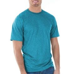 Gildan Mens Classic Short Sleeve T-Shirt, Men's, Size: Small, Blue