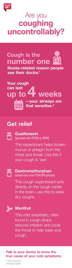 Calm your uncontrollable cough—find cold relief fast.