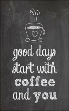 If you are ready to start your day with our coffee - we are open from 6:30am :)
