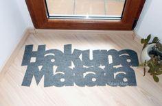 Hakuna Matata Door Mat | 20 Hilarious Welcome Mats