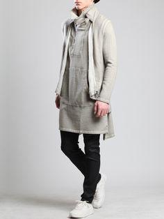 Plush Vest by SYNGMAN CUCALA