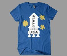 Apollo 11 T-shirt Tee Shirt The Shining Steven King STANLEY KUBRICK film d/'horreur