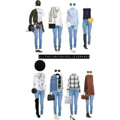 Light Blue Jeans 2 by allthefashionyoulleverneed on Polyvore featuring мода, Chicwish, H&M, Zara, Topshop, River Island, Abercrombie & Fitch, ZooShoo, Fahrenheit and Dr. Martens