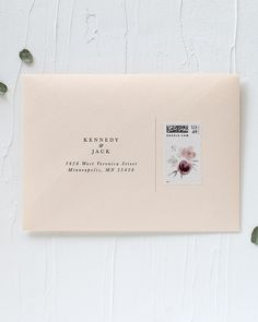 Eucalyptus and Vellum Birthday Party Invitations