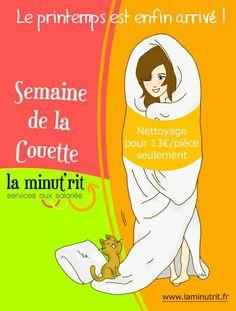 Semaine de la Couette à la conciergerie La Minut'rit