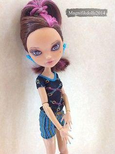 OOAK Custom Monster High Ever After High Repaint Doll