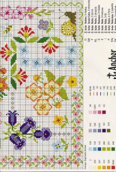 233 Best Sewing-CrossStitch Borders images in 2019 | Cross