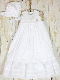 2eeb54fcf faldon bebe niña rosa bautizo blanco capota cristianar