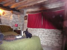 ANCIENT RAM INN BLACK MIST! Ancient Ram Inn, Gloucestershire - England.  Many paranormal groups have had their investigations here televised, including the Ghost Adventures Crew!