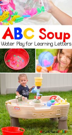 ABC Soup Water Play
