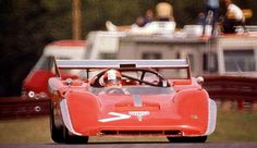 Herbert Muller Ferrari 512M #1036 Spyder Can Am @ The Glen 1974