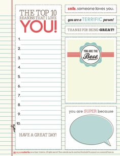 May be for children, but husband could use some lunchbox notes too :)