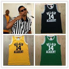 d0533b590 Aliexpress.com   Buy BEL AIR Academy  14 Will Smith Basketball .