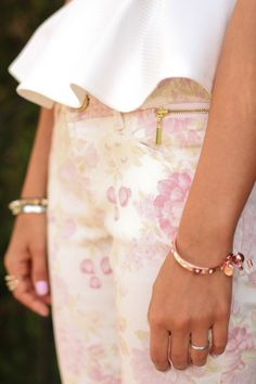 Spring 2013: Day Dreamer #neutral #fashion #pants #floral #inspiration