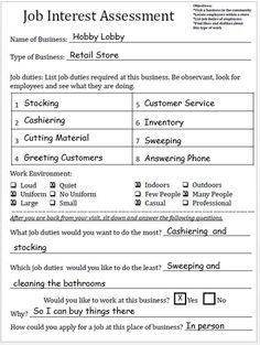 career plan worksheet | Career Research Worksheet Career Research ...
