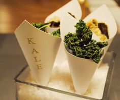 Chip de Kale by Sarova Catering #foodie #gastronomia #chefs #saludable #healthy