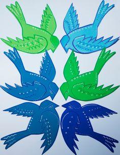 Pikczer For Ticzer ptaki, birds, bird, papercut
