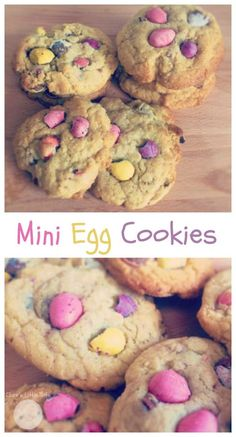 mini egg cookies easter baking idea kids can make Easter Cupcakes, Baking Cupcakes, Easter Cookies, Easter Treats, Baking Cookies, Easter Snacks, Easter Cake, Easter Party, Baking Recipes For Kids