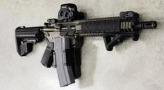 Loaded out 10.5in with EOTech EXPS 3-0  #guns #tactical
